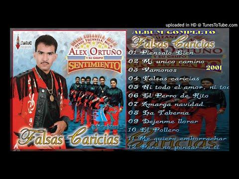 FALSAS CARICIAS [ALBUM COMPLETO] - ALEX ORTUÑO Y SU GRUPO SENTIMIENTO [2003]