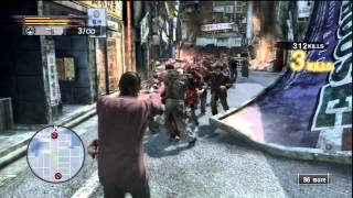 7 Yakuza: Dead Souls (Dead Souls Mode Gameplay - Akiyama)