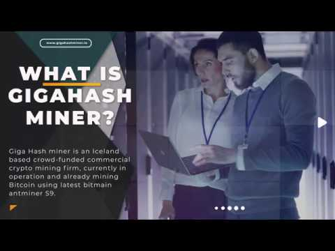 GigaHash Miner ICO - Crowdfunded Commercial Crypto Mining