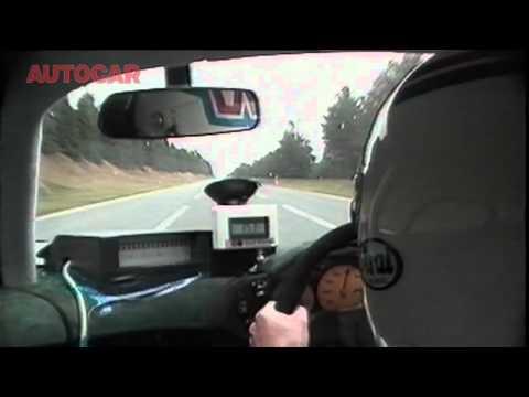 McLaren F1 243mph run
