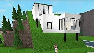 Building A 'Hillside House'! #Roblox - Bloxburg (63k)