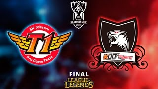 SKTelecom T1 vs KOO Tigers - Final - Mapa 3 - Worlds 2015 - Español