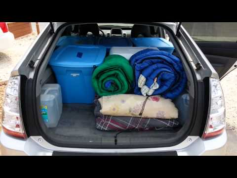 4. How much can fit in a prius? A lot.