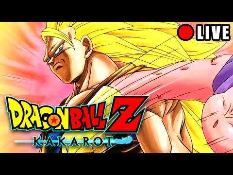 🔴DBZ KAKAROT - GOKU SSJ3 VS MAJIN BUU !