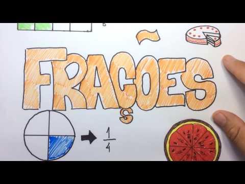 Frações- como transformar uma fração mista em impropria e vice-versa