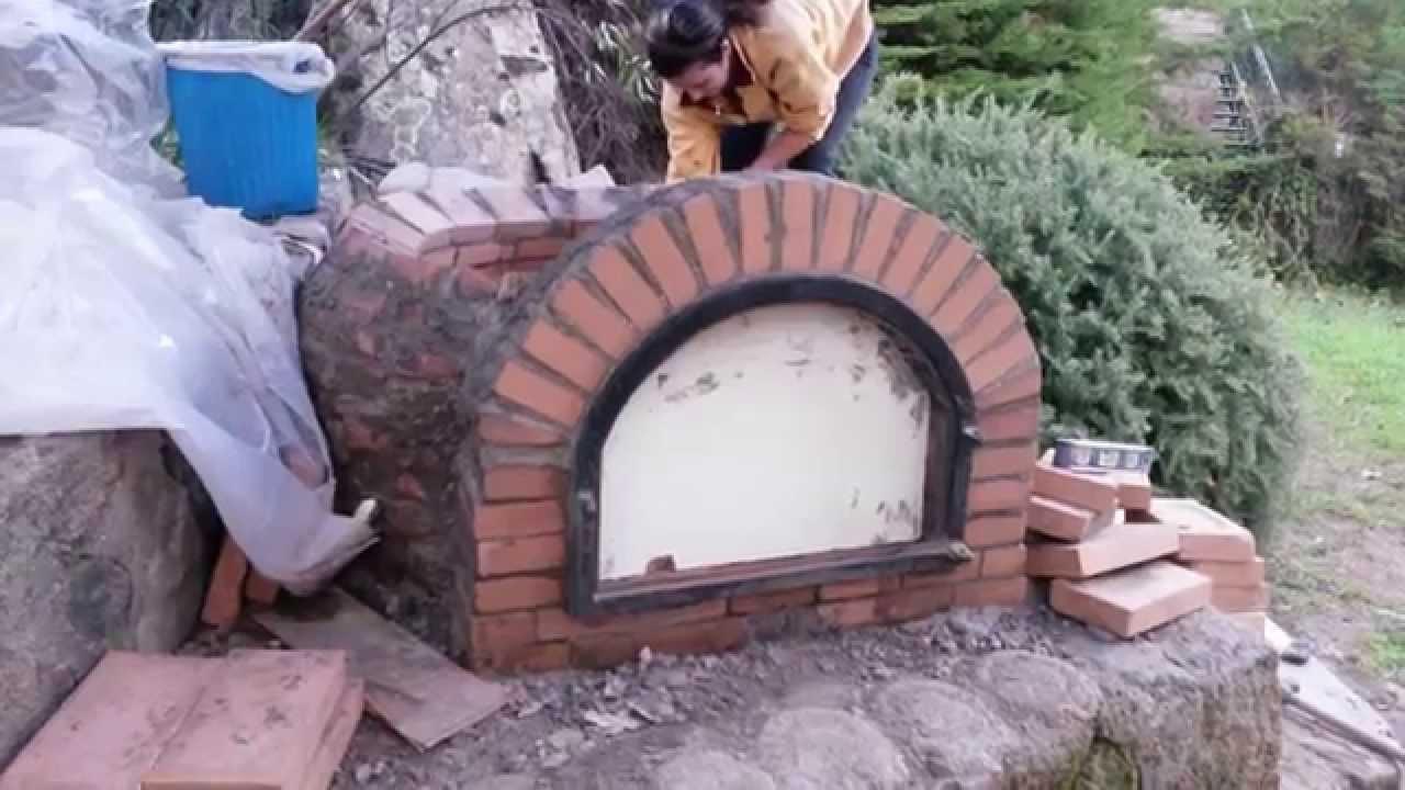 Construcci n de horno de le a y barbacoa 5 youtube - Horno de lena y barbacoa ...