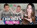 TIPS FOR RAISING BILINGUAL CHILDREN | HOW TO TEACH KIDS A SECOND LANGUAGE | Ysis Lorenna