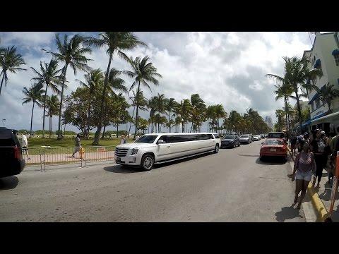 Miami South Beach Walking On Ocean Drive 2017