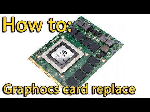 Asus G53S videocard removing, замена видеокарты ноутбука