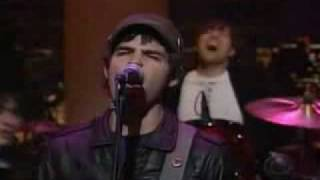 Phantom Planet On David Letterman
