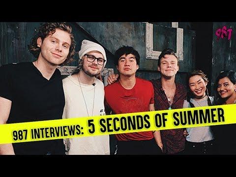 987 Interviews 5 Seconds of Summer