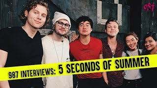 987 Interviews 5 Seconds of Summer