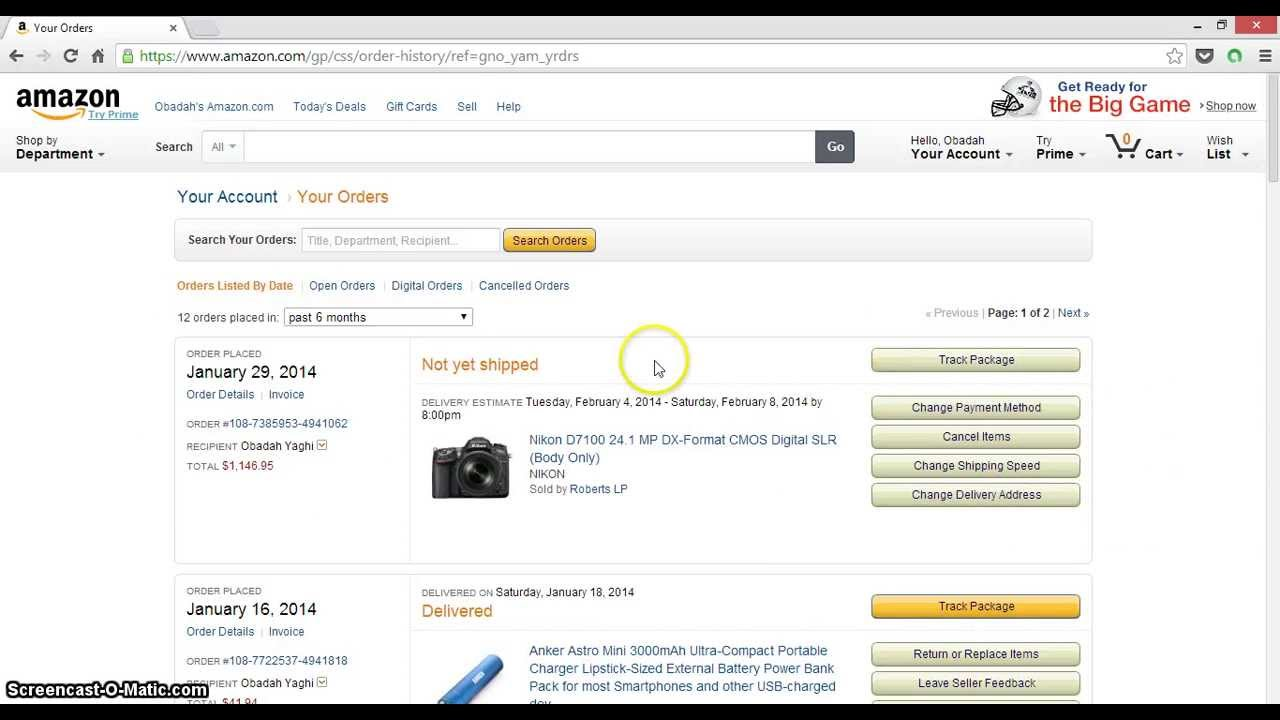 How to Cancel an Order On Amazon without getting charged! super EASY!