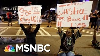Family Releases Video Of Charlotte Shooting | Rachel Maddow | MSNBC