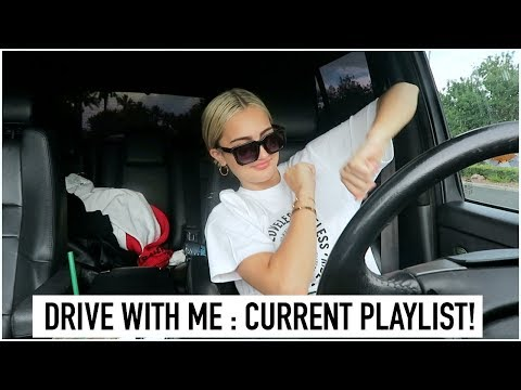 Take a Drive with Me! (my current music playlist!!) | Suede Brooks