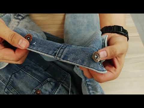 Áo Khoác Jeans Nam Xanh ôm Vải Dày đẹp A355