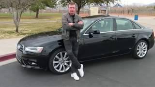 Автомобили из США. Audi A4 2013 за $6200