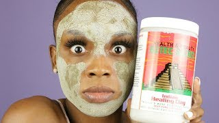 THE WORLD'S MOST POWERFUL MASK? Aztec Secret Healing Clay Mask #MASKMONDAYS