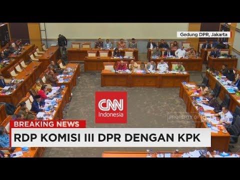Breaking News: Debat Panas! RDP Komisi III DPR Dengan KPK