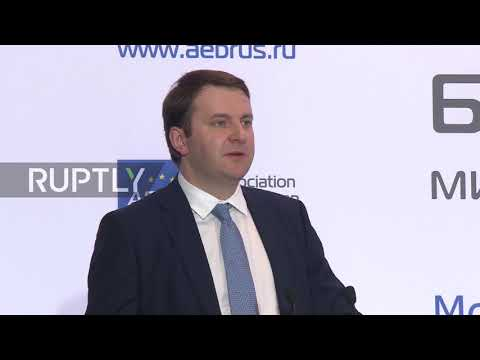 Russia: Trade with EU 'seriously affected' by politics – EconDev Minister Oreshkin