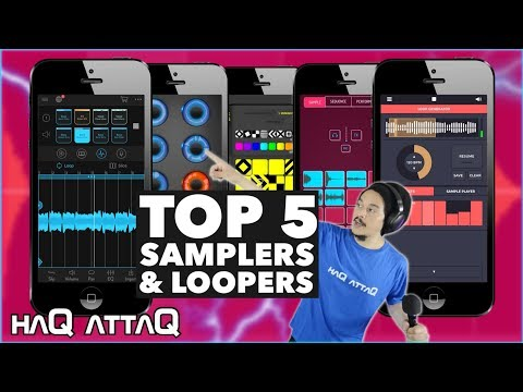 My Top 5 Sampler And Looper Apps For IOS 2011 - 2019 | HaQ AttaQ