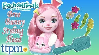 Enchantimals Bree Bunny Styling Head from Just Play