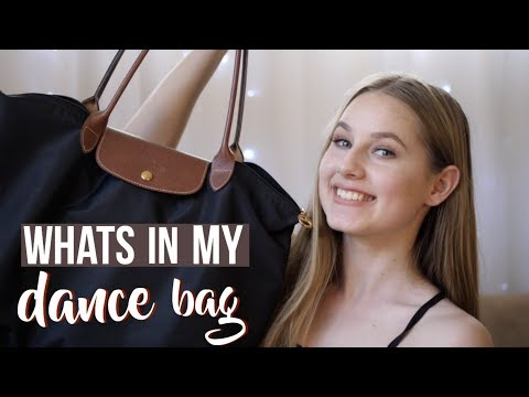 What's In My Dance Bag For 2018   New Year | DAY 6 | Talia