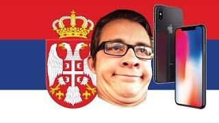 Zasto je debilizam kupiti Iphone X u Srbiji?