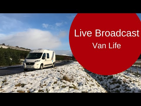 🔴 Live Broadcast: Sun Living V60SP and Van Life