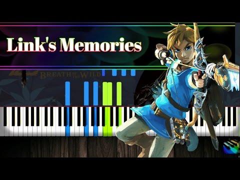 Link's Memories - Legend of Zelda:Breath of the Wild [Piano Tutorial] (Synthesia)