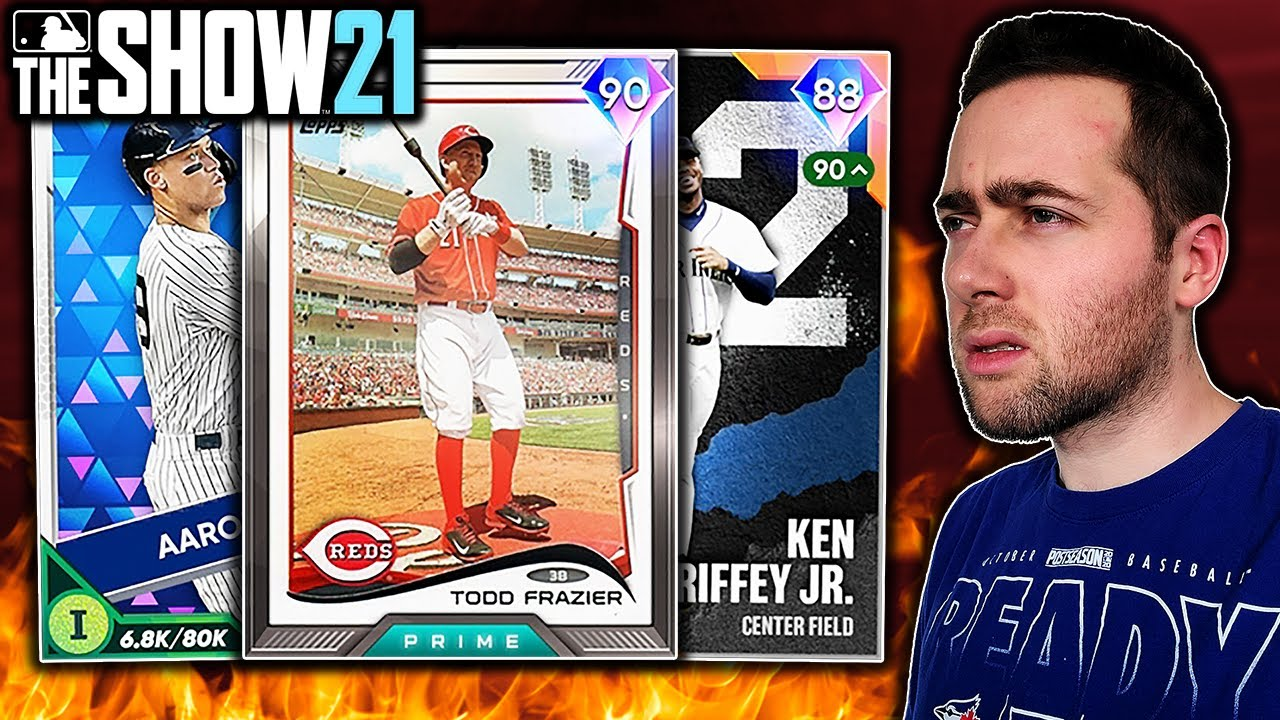 I USED HOME RUN DERBY WINNERS IN MLB THE SHOW 21 DIAMOND DYNASTY...