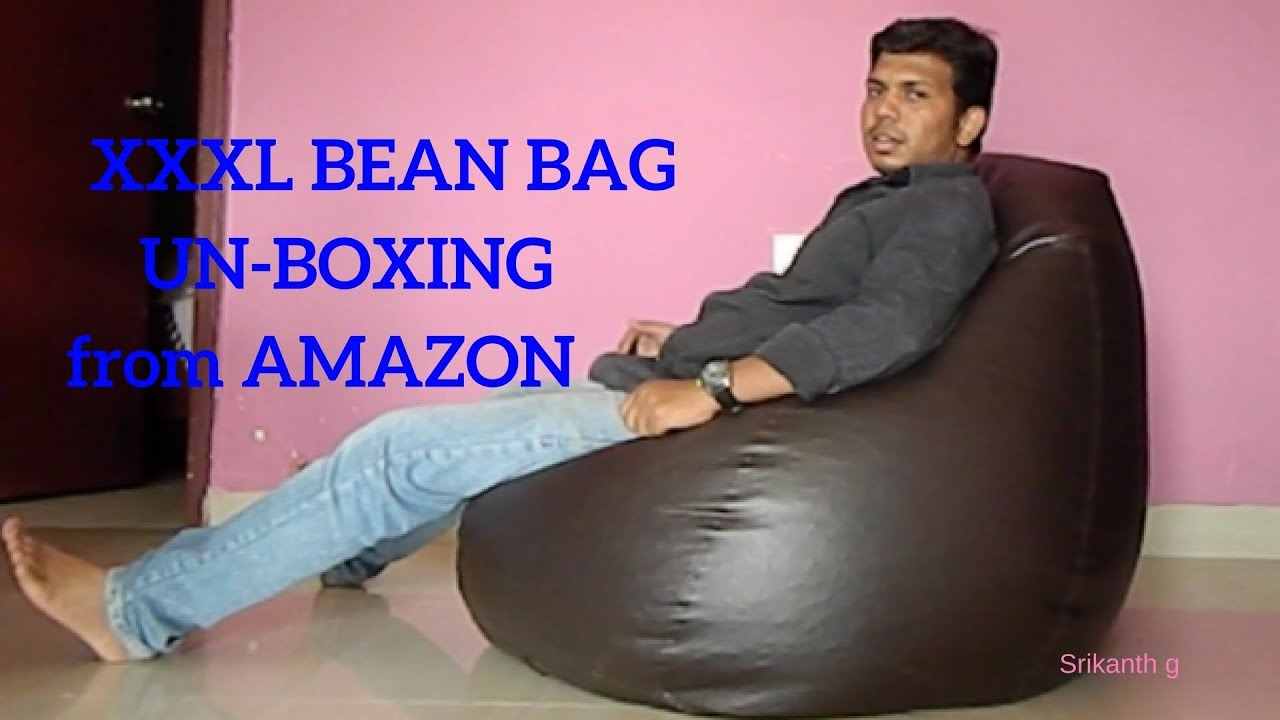 Solimo Xxxl Bean Bag Unboxing Amazon Youtube