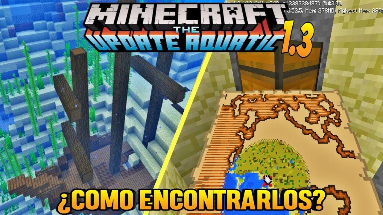 Mapa Del Tesoro Minecraft.Nuevo Truco Encuentra Los Barcos Y Tesoros Facilmente En Minecraft 1 3 Minecraft Pe 1 2 14 2