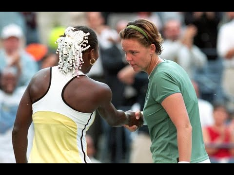 Serena Williams vs Lindsay Davenport 1999 US Open Highlights