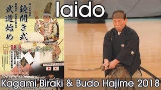 Iaido Demonstration - Nippon Budokan Kagamibiraki 2018