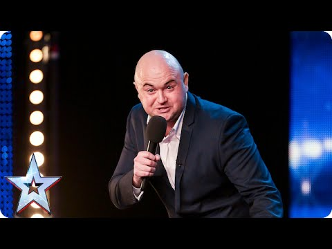 Danny Posthill hopes to make a good impression on the Judges | Britain's Got Talent 2015