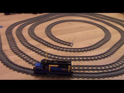 "Timka LEGO ""unstoppable"" train."