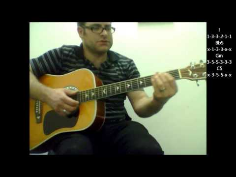 "How to play ""Get Ready"" by The Temptations on acoustic guitar"