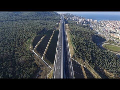 İstanbul - İzmir Otoyolu: Osmangazi Köprüsü - Karabalçık (Bursa Kuzey Gişeleri)