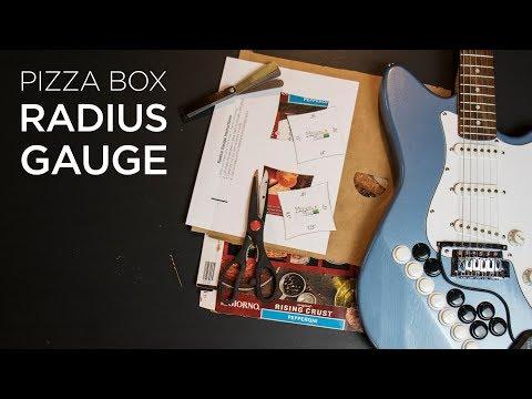 How To Adjust A Guitar Bridge with DIY Radius Gauges
