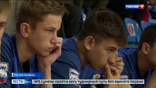 Сильнейшую в России школьную команду по мини футболу торжественно встретили на родине