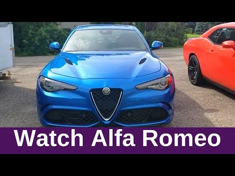 2019 Alfa Romeo Giulia Guadrifoglio Review and Walkaround