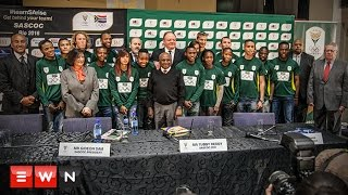 One-hundred-and-thirty-nine athletes will make their way to Rio for the 2016 Olympics in August. South African Sports Confederation and Olympic Committee President Gideon Sam says he expects the team to return with at least 10 medals.  Click here to subscribe to Eyewitness news: http://bit.ly/EWNSubscribe   Like and follow us on: http://bit.ly/EWNFacebook AND https://twitter.com/ewnupdates   Keep up to date with all your local and international news: https://ewn.co.za   Produced by: Kgothatso Mogale