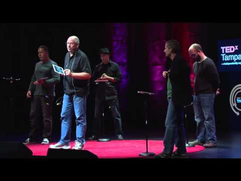 The iPad as a musical instrument: Touch (the USF faculty iPad band) at TEDxTampaBay