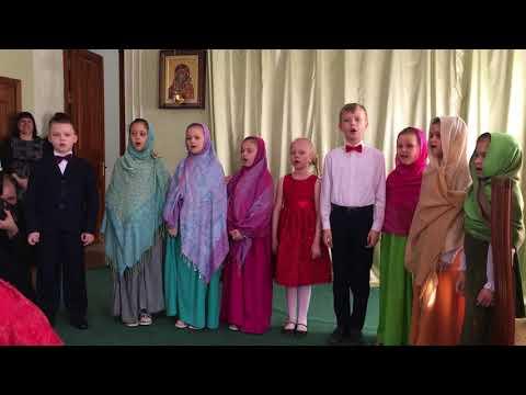 Пасхальный праздник в Троицком соборе г. Щелково. Видео 1