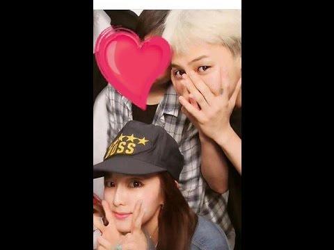 Sandara and chanyeol dating