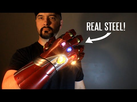 WATCH: Real metal Nano Gauntlet from Avengers Endgame