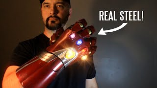 REAL metal Nano Gauntlet from Avengers Endgame