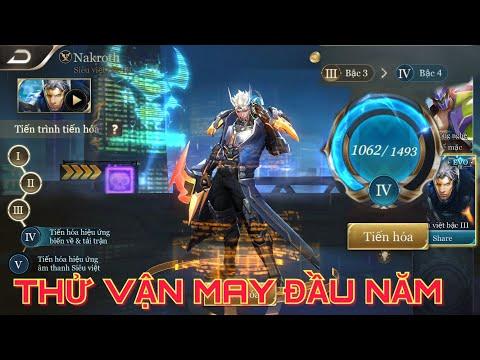 [Kgame 69] Thử vận may Tiến Hóa trang phục NAKROTH Siêu Việt mừng năm mới Liên Quân Mobile