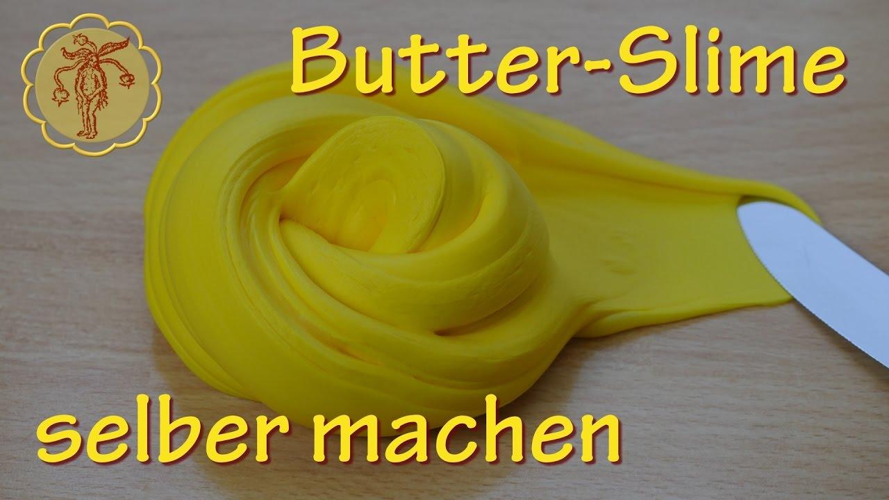 Butter Slime Selber Machen Ohne Waschmittel Und Ohne Boraxpulver